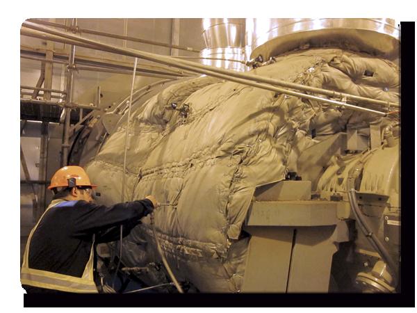 Sistema de Calentamiento de Turbina | Ingeniería Aplicada