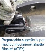 Preparación Superficial - Bristle Blaster