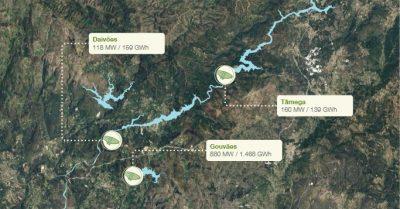 Central Hidroeléctrica de Gouvães (Portugal)