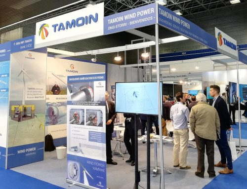 TAMOIN, PRESENT IN WIND EUROPE 2019