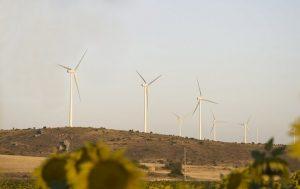 Parque eólico Iberdrola en Maranchón