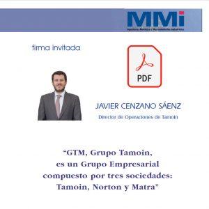 Entrevista a Javier Cenzano en MMI