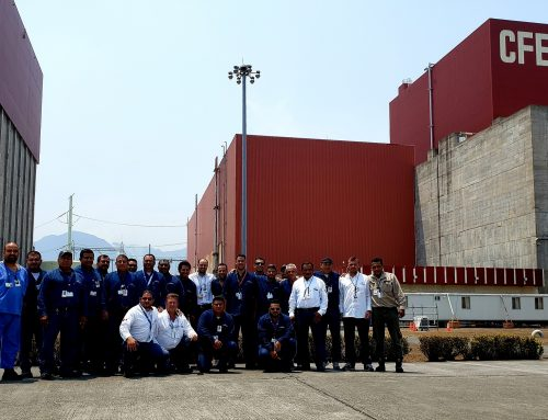 Recargas en central nucleoeléctrica de Laguna Verde